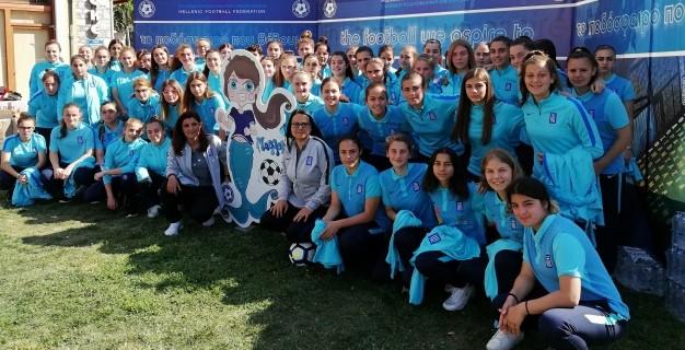 """Η Ιωάννα Λυκούδη στο """"Αναπτυξιακό Φεστιβάλ Γυναικείου Ποδοσφαίρου, Βόλος 2019"""""""