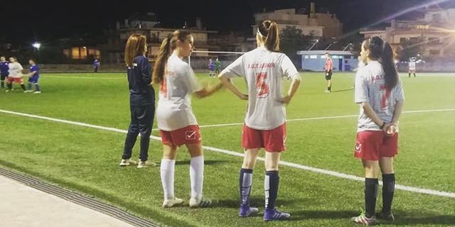Τράχωνες Αλίμου – Εθνικός 1-0 (Γυναίκες)